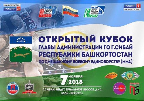 Сибай ждет бойцов на Открытый Кубок по ММА