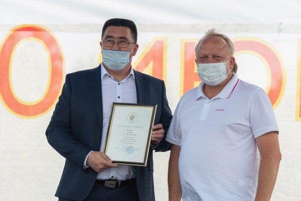 Руслан Зарипов награжден Почетной грамотой ОКР