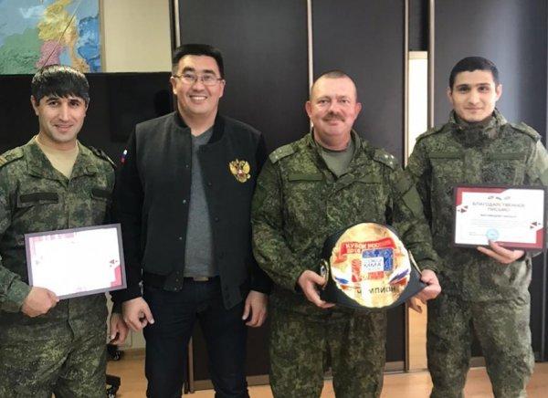 15 октября президент Федерации смешанного боевого единоборства (ММА) РБ Руслан Зарипов посетил войсковую часть 63494.